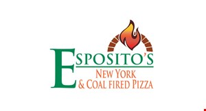 Esposito's New York & Coal Fired Pizza logo