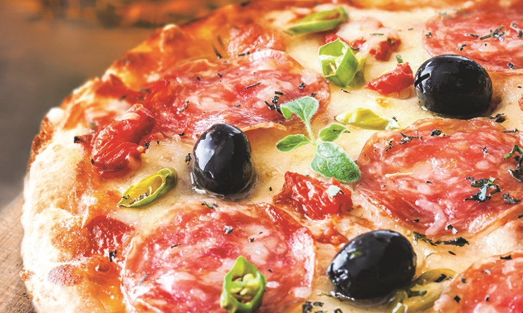 Product image for Esposito's New York & Coal Fired Pizza $30 dinner for 2. Off prix fixe menu. 1 appetizer, 2 entrees & 1 dessert. Dine in only · Mon-Wed.