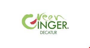 Product image for Green Ginger $5 OFF Any Purchase of $30 or more.