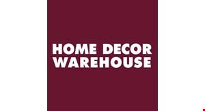 Home Decor Warehouse logo