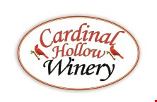Product image for Cardinal Hollow Winery FREE $20 Gift Card when you purchase $100 worth of Gift Cards.