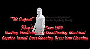 Ray's Heating & Air Contditioning logo