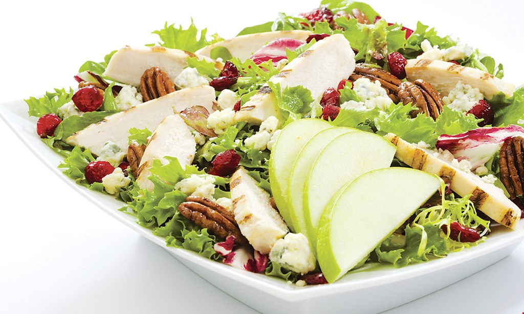 Product image for Saladworks ½ Off saladwith the purchase of a salad of equal or greater value.