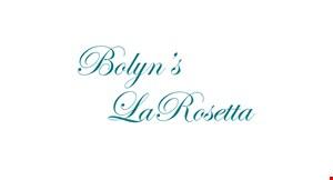 Bolyn's La Rosetta logo