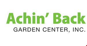 Achin' Back Garden Center, Inc logo