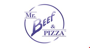 Product image for Mr. Beef & Pizza $3 OFF any purchase of $20 or more before tax ($22 w/tax).