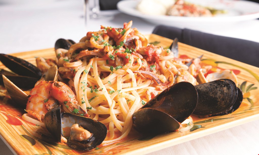 Product image for Romeo's Ristorante 15% off any lunch, dinner or catering order. Minimum $25 takeout or dine in only.