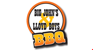Big John's & Lloyd Boys BBQ logo
