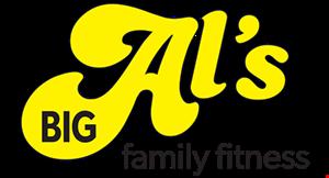 Big Al's Family Fitness logo