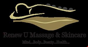 Renew U Massage & Skincare logo