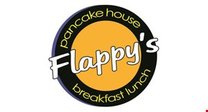 Product image for FLAPPY'S PANCAKE HOUSE $10 off any purchase