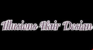 Illusions Hair Design logo