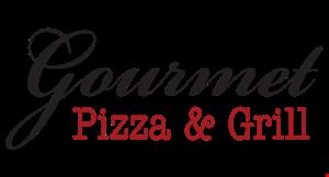 GOURMET PIZZA & GRILL logo