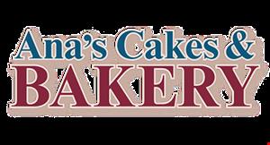 Ana's Cakes & Bakery logo