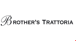 Product image for BROTHERS TRATTORIA $10 off any purchase