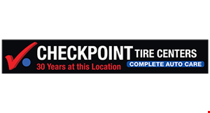Checkpoint Tire Centers logo