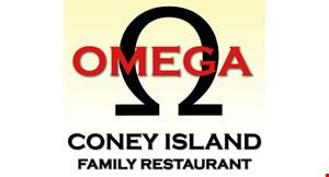Omega Coney Island logo