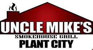 Uncle Mike's Smokehouse Grill logo