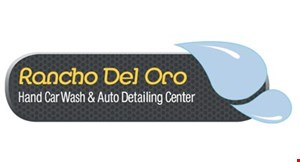 Rancho Del Oro Hand Car Wash & Auto Detailing Center logo