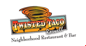 Twisted Taco Roswell logo
