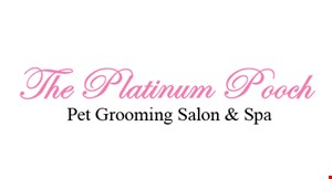 The Platinum Pooch logo
