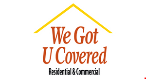Product image for We Got U Covered $150 OFF patio covers or concrete work.