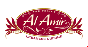 The Prince Al Amir Lebanese Cuisine logo