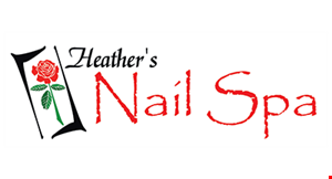 Heather's Nail Spa logo