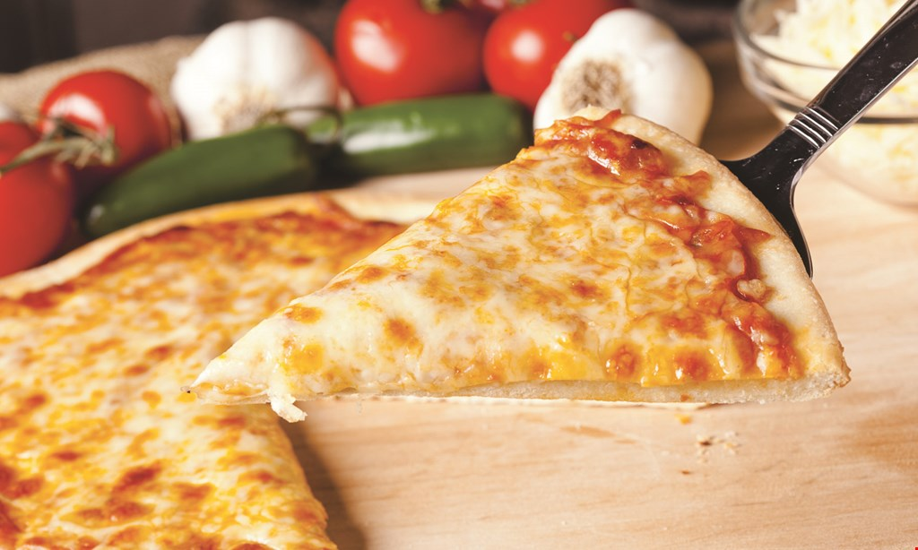 """Product image for L&F PIZZA FREE 10"""" cheese pizza with purchase of a 16"""" pizza."""