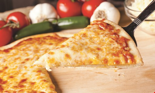 "Product image for L&F PIZZA FREE 10"" cheese pizza with purchase of a 16"" pizza."