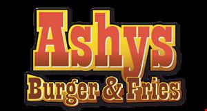 Ashys Burger logo