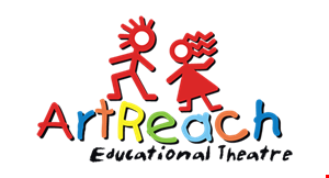 Product image for Artreach Educational Theatre $100 Off 3 Or 6 Week Summer Camps.