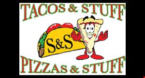 S&S Tacos, Pizza & Stuff logo