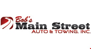 Product image for BOBS MAIN STREET AUTO save $15 flush & fill special