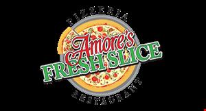 Amore's Fresh Slice Pizzeria Restaurant logo