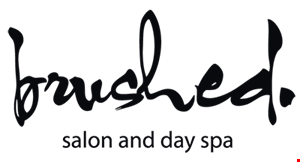 Brushed Salon and Day Spa logo