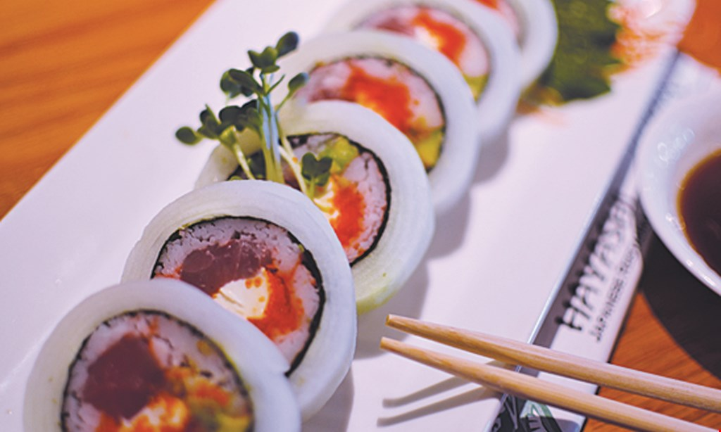 Product image for Hayashi Japanese Restaurant $10 Off any purchase of $50 or more any day, any time