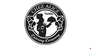 Chez Alice Catering Company logo