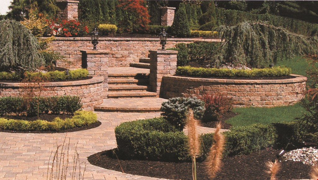 Product image for Evergreen $7500 20x20 patio with fire pit choose from large selection of in-stock pavers