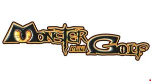 Monster Mini Golf logo