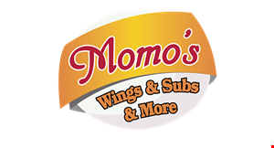 Momo's Wings & Subs & More logo