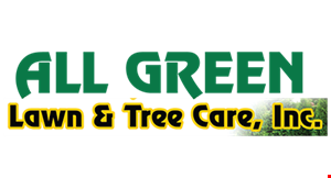 All Green Lawn & Tree Care, Inc. logo