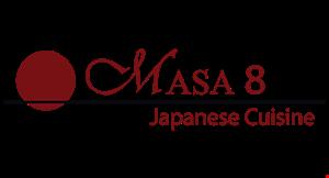 Masa 8 Japanese Cuisine logo
