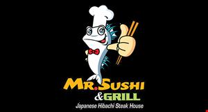 Mr. Sushi & Grill logo