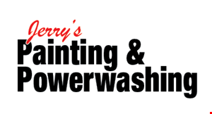 Product image for Jerry's Painting & Powerwashing 20%off painting & powerwashing
