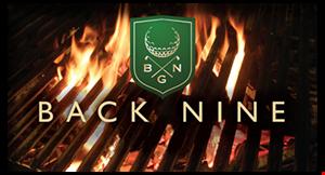 Back Nine Grill logo
