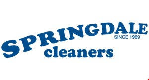 Springdale Cleaners (Eastgate) logo