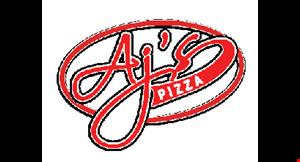 AJ's Pizza logo