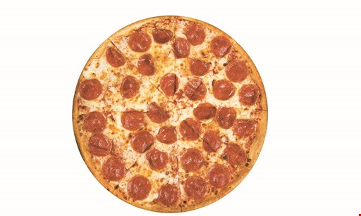 Product image for AJ's Pizza $5 off any 2 pizzas take-out, delivery or dine in