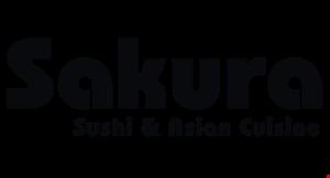 Sakura Sushi & Asian Cuisine logo